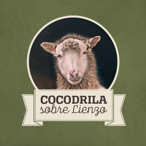 Cocodrila Von Durcal · Cocodrila sobre Lienzo