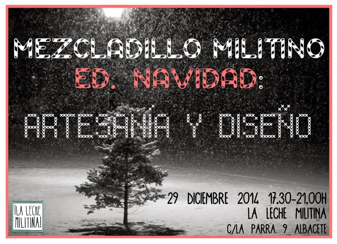 Leche Militina Albacete - Mercadillo militino Navidad 2014